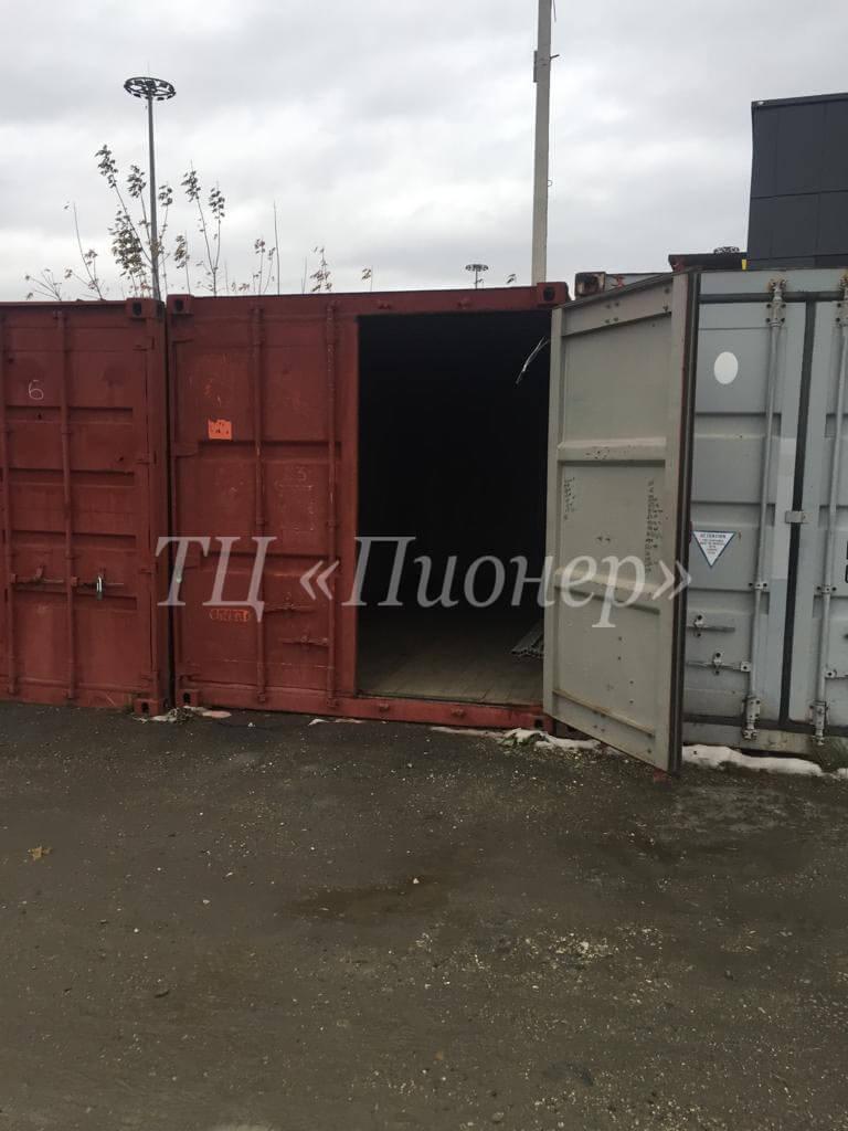 Аренда грузового контейнера 20 тонн